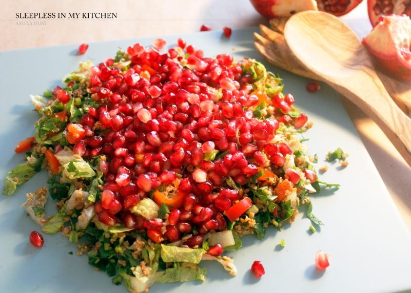 Pomgranet salad_1