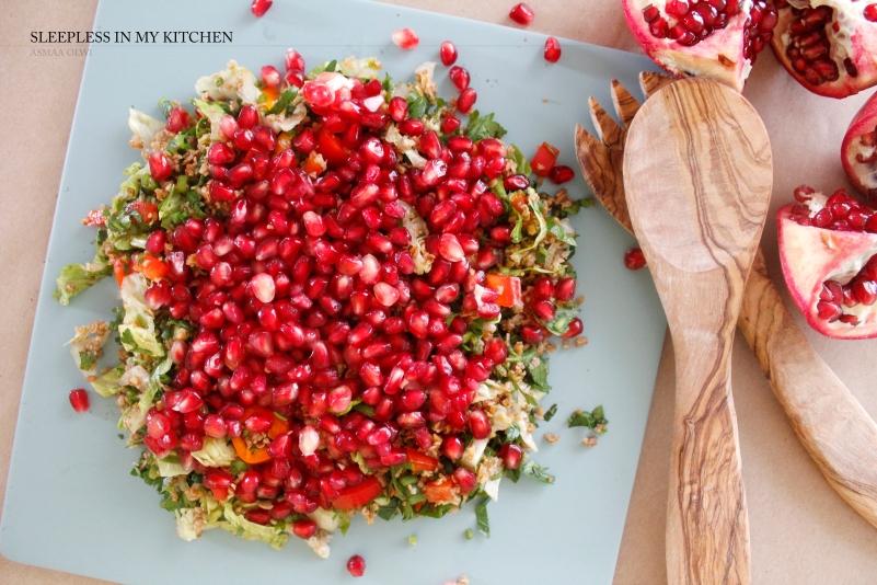 Pomogranet salad_2