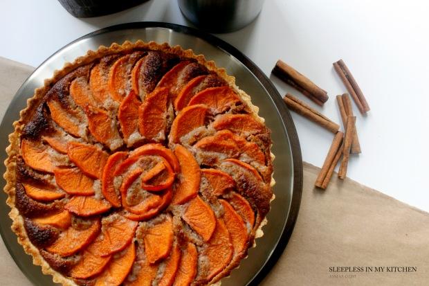 persimmon tart_4