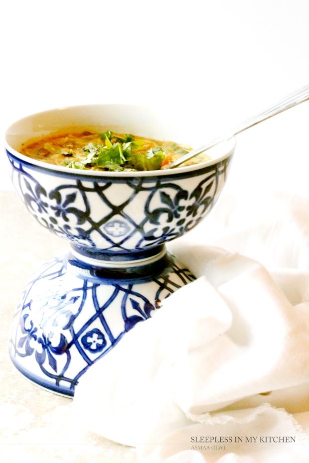 شوربة الحريرة  Harira soup