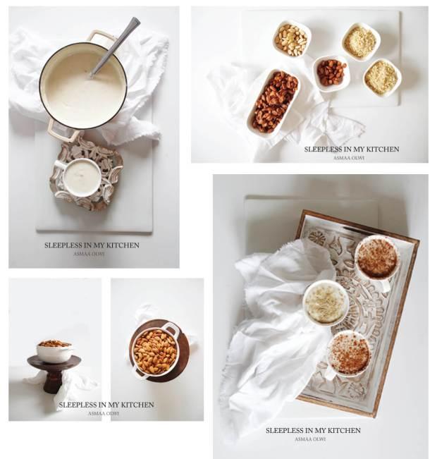 Amond coffee_collage